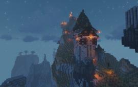 Майнкрафт локация База клана Celestials