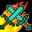 Иконка Майнкрафт сервера GoldenBlocks