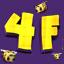 Иконка Майнкрафт сервера 4friends