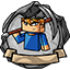 Иконка Майнкрафт сервера PapaCraft