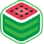 Иконка Майнкрафт сервера MelonCraft server Mini-Games
