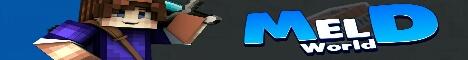 Баннер сервера Майнкрафт MeldWorld