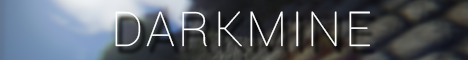 Баннер сервера Майнкрафт DarkMine