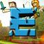 Иконка Майнкрафт сервера EvilWorld - Безумие