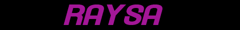 Баннер сервера Майнкрафт RAYSA.PRO