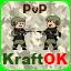 Иконка Майнкрафт сервера KraftOK