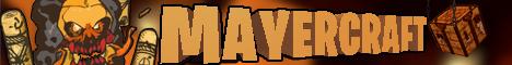 Баннер сервера Майнкрафт MayerCraft