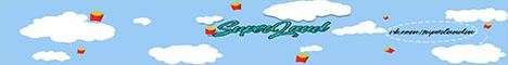 Баннер сервера Майнкрафт SuperLand