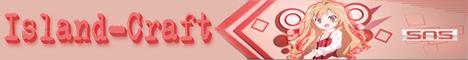 Баннер сервера Майнкрафт Island-Craft