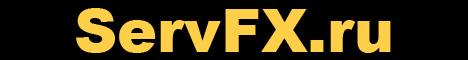 Баннер сервера Майнкрафт ServFX AdvanceTech