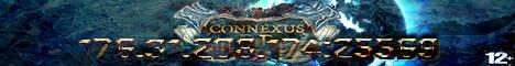 Баннер сервера Майнкрафт Connexus RP