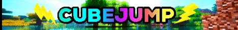 Баннер сервера Майнкрафт CubeJump