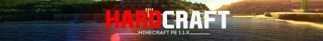 Баннер сервера Майнкрафт Hard-Craft