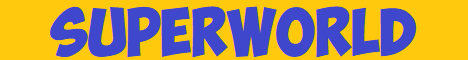 Баннер сервера Майнкрафт SuperWorld