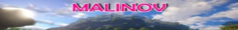 Баннер сервера Майнкрафт Malinov