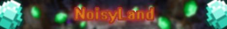 Баннер сервера Майнкрафт NoisyLand