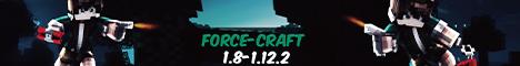 Баннер сервера Майнкрафт ForceCraft