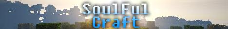 Баннер сервера Майнкрафт Soulful Craft