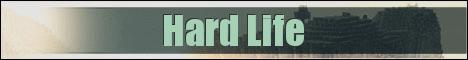 Баннер сервера Майнкрафт Hard Life