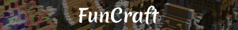 Баннер сервера Майнкрафт FunCraft