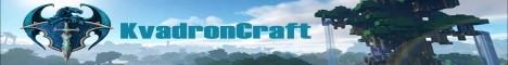 Баннер сервера Майнкрафт KvadronMC Техномагия