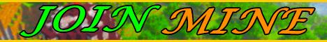 Баннер сервера Майнкрафт JoinMine
