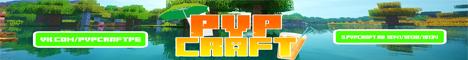 Баннер сервера Майнкрафт PVP Craft