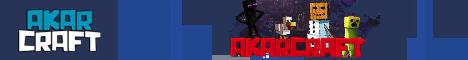 Баннер сервера Майнкрафт AkarCraft
