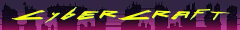 Баннер сервера Майнкрафт CyberCraft