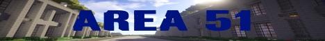 Баннер сервера Майнкрафт Area 51