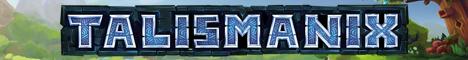 Баннер сервера Майнкрафт Talismanix