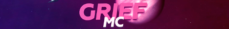 Баннер сервера Майнкрафт GriefMC