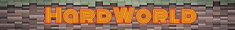 Баннер сервера Майнкрафт HardWorld