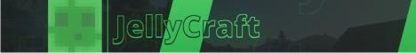 Баннер сервера Майнкрафт JellyCraft