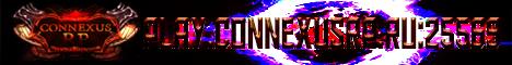 Баннер сервера Майнкрафт Connexus RP: Hardmine