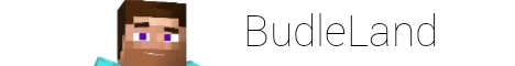 Баннер сервера Майнкрафт ⭐ BudleLand ⭐