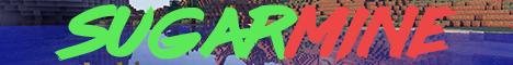Баннер сервера Майнкрафт SugarMine