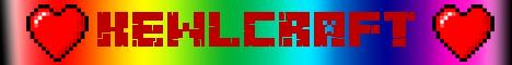 Баннер сервера Майнкрафт kewlcraft