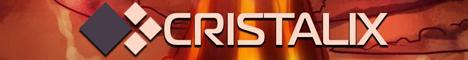 Баннер сервера Майнкрафт Кристаликс