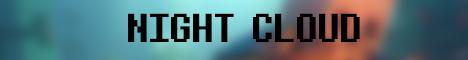 Баннер сервера Майнкрафт NightCloud