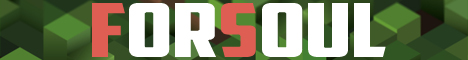 Баннер сервера Майнкрафт ForSoul
