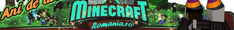 Баннер сервера Майнкрафт Minecraft-Romania