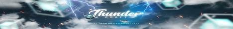 Баннер сервера Майнкрафт ThunderCraft