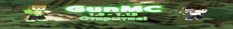 Баннер сервера Майнкрафт GunMC