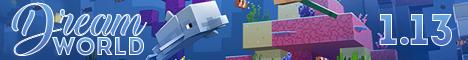 Баннер сервера Майнкрафт DreamWorld
