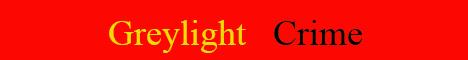 Баннер сервера Майнкрафт Greylight Crime