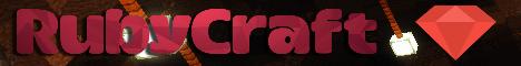 Баннер сервера Майнкрафт RubyCraft
