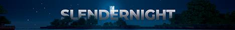 Баннер сервера Майнкрафт SlenderNight