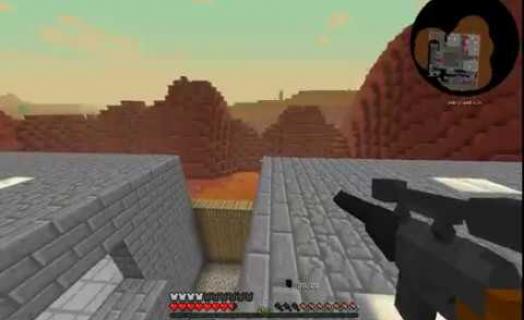 Мини-игра PvP арена Crossfire на военном сервере kraftOK.tk