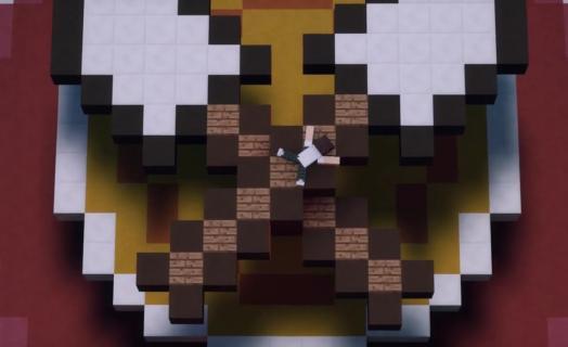 Анимационный ролик про входную локацию ко всем играм на HiveMC
